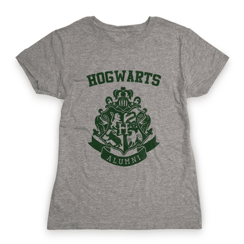 Hogwarts Alumni (Slytherin) Womens T-Shirt