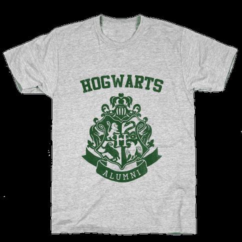 Hogwarts Alumni (Slytherin) Mens T-Shirt