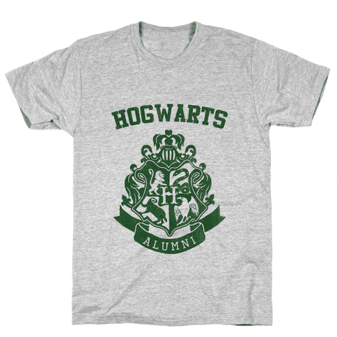 Hogwarts Alumni (Slytherin) Mens T-Shirt