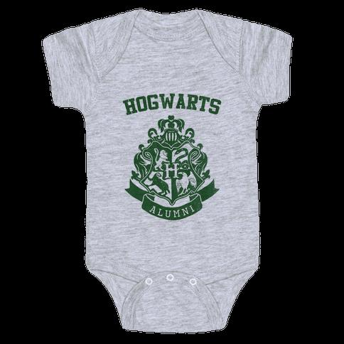 Hogwarts Alumni (Slytherin) Baby Onesy