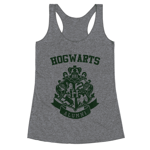 Hogwarts Alumni (Slytherin) Racerback Tank Top