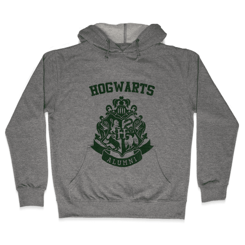 Hogwarts Alumni (Slytherin) Hooded Sweatshirt