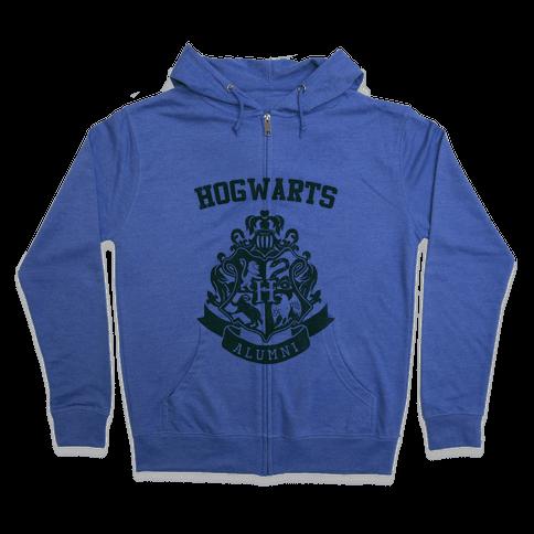 Hogwarts Alumni (Slytherin) Zip Hoodie