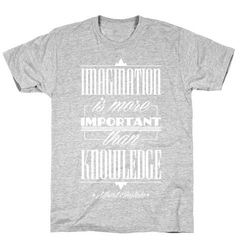 """""""Imagination"""" Albert Einstein T-Shirt"""