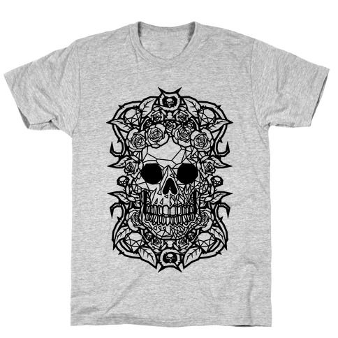 Punk Diamond Skull T-Shirt