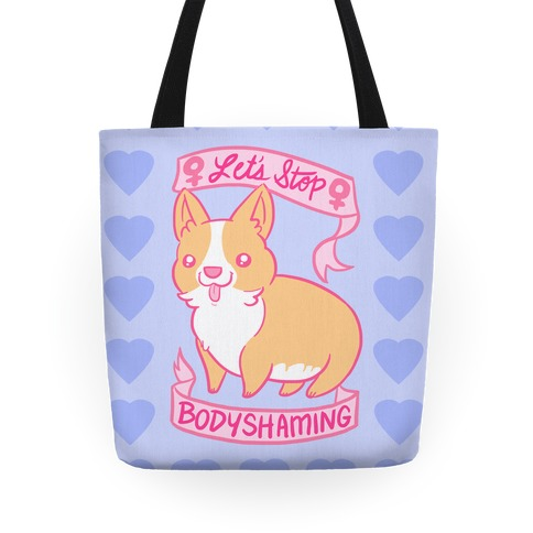 Let's Stop Bodyshaming Tote
