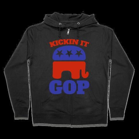Kickin It GOP Zip Hoodie