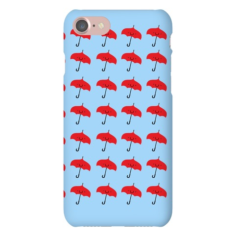 Umbrella Pattern Phone Case