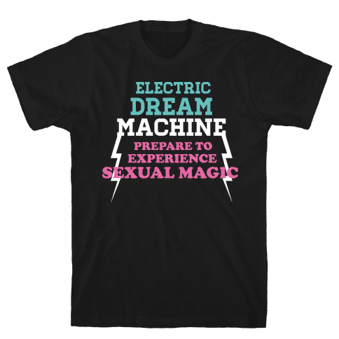 Electric Dream Machine Mens T-Shirt