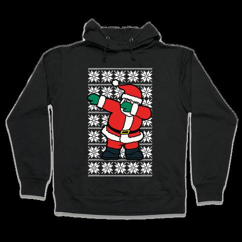 Dabbing Santa  Hooded Sweatshirt