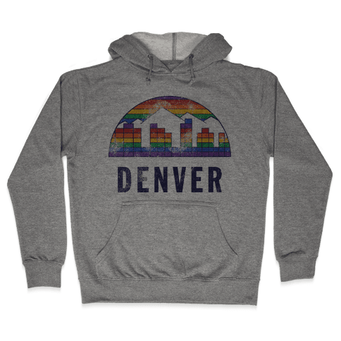 Denver (Vintage) Hooded Sweatshirt