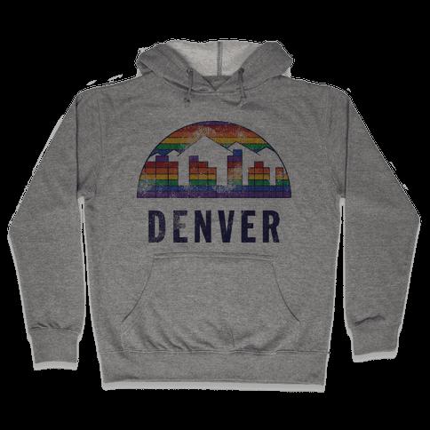 Denver (Vintage) Hooded Sweatshirt