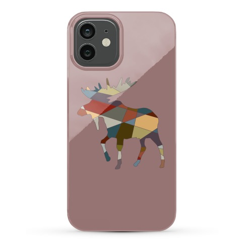 Geometric Moose Phone Case