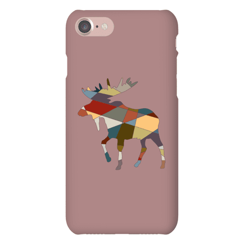 Geometric Moose Phone Case