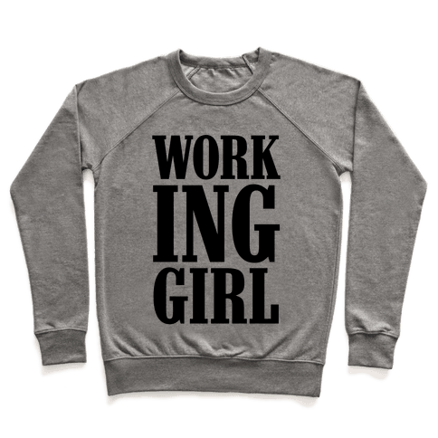 Working Girl Pullover