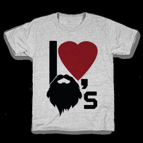 Beard Love Kids T-Shirt
