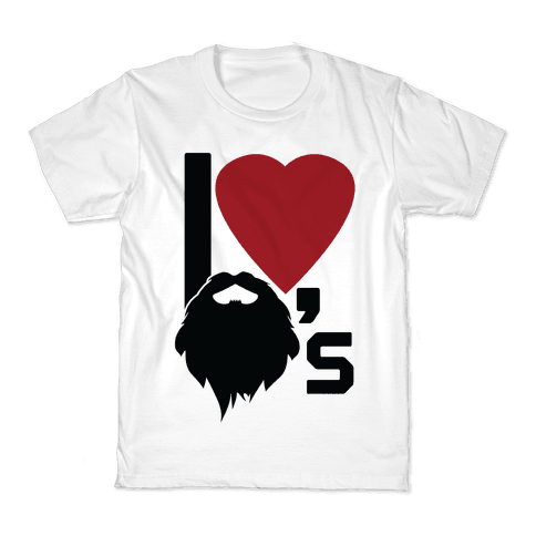 Beard Love Kids T-Shirt