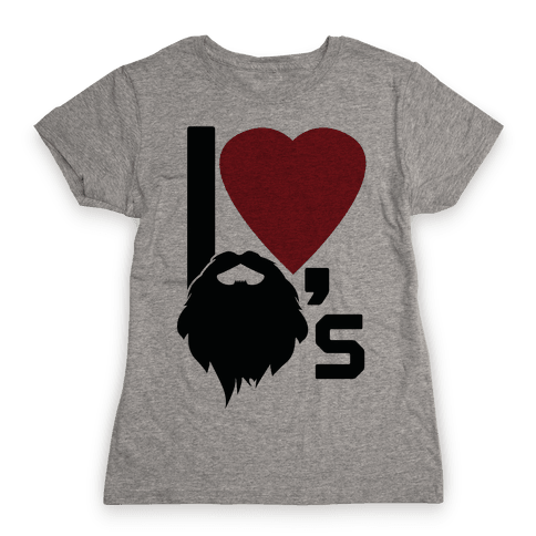 Beard Love Womens T-Shirt
