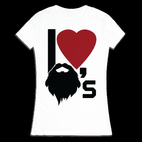 Beard Love Womens T-Shirt