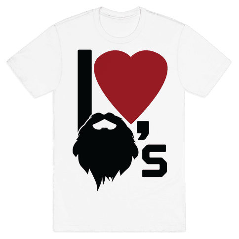 Beard Love Mens T-Shirt