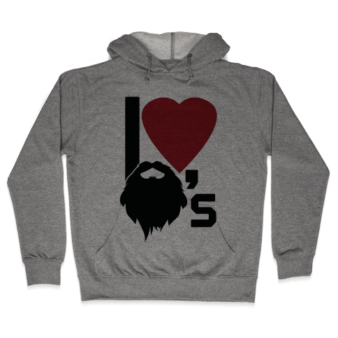 Beard Love Hooded Sweatshirt