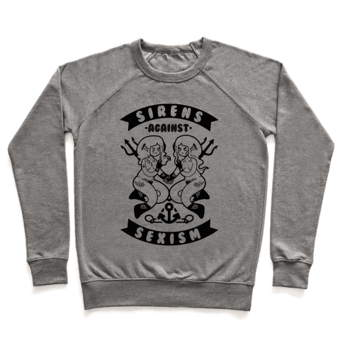 Sirens Against Sexism Pullover
