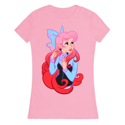 Pastel Ariel Parody Womens T-Shirt