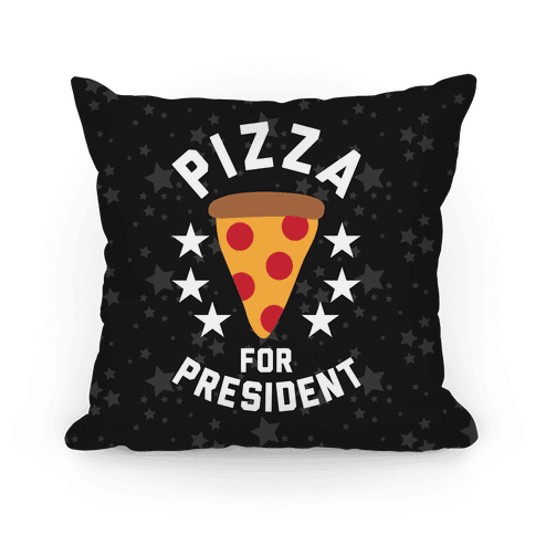 Pizza For President Pillow