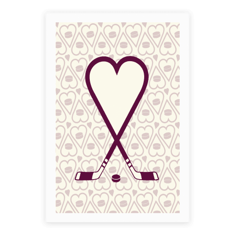 Hockey Love Poster