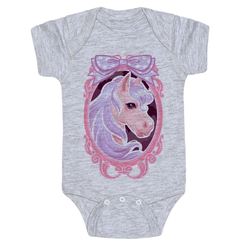 Pastel Magic Pony Baby Onesy