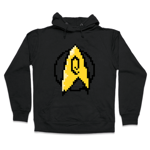 Star Trek: 8-Bit-Operations  Hooded Sweatshirt