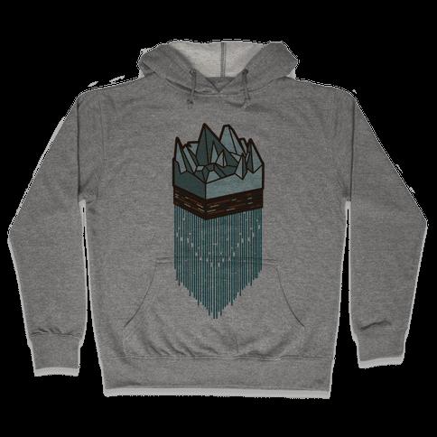 3d Ice Slice Hooded Sweatshirt