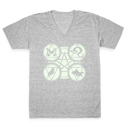 The Craft V-Neck Tee Shirt