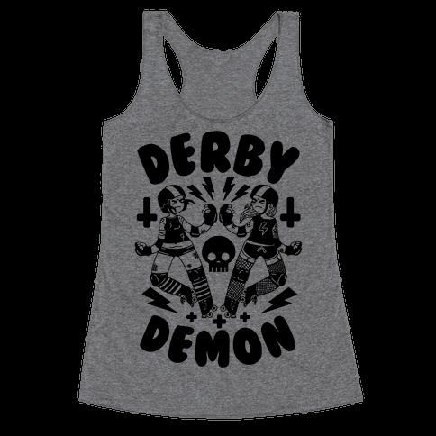 Derby Demon Racerback Tank Top