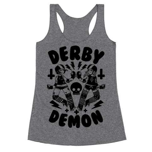 Derby Demon Racerback Tank Top
