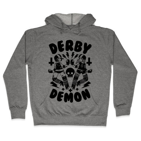 Derby Demon Hooded Sweatshirt