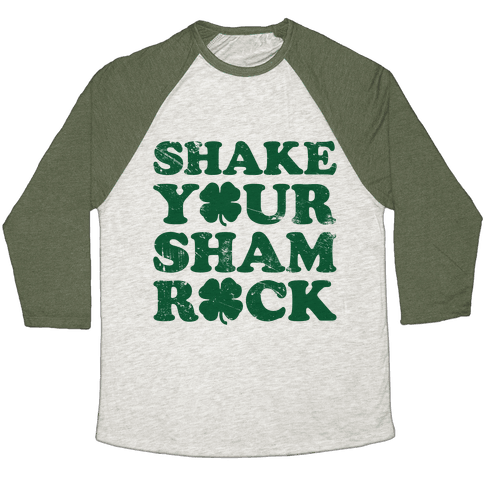 Shake Your Shamrock Baseball Tee