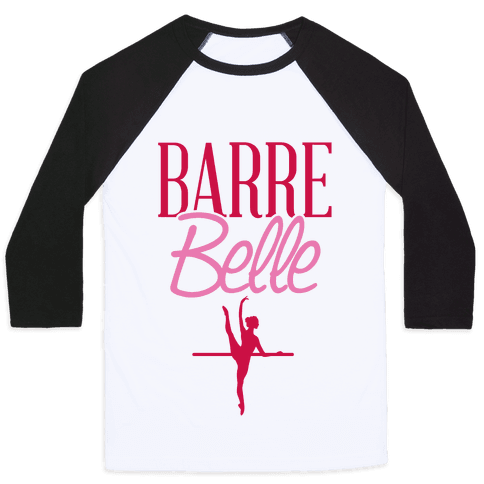 Barre Belle Baseball Tee