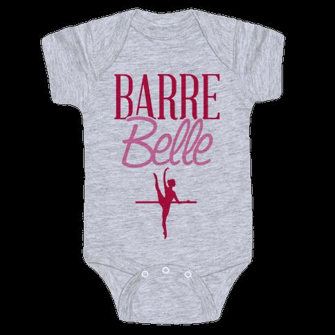 Barre Belle Baby Onesy