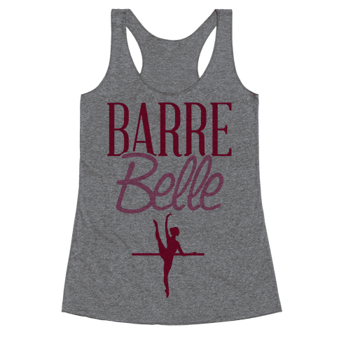 Barre Belle Racerback Tank Top