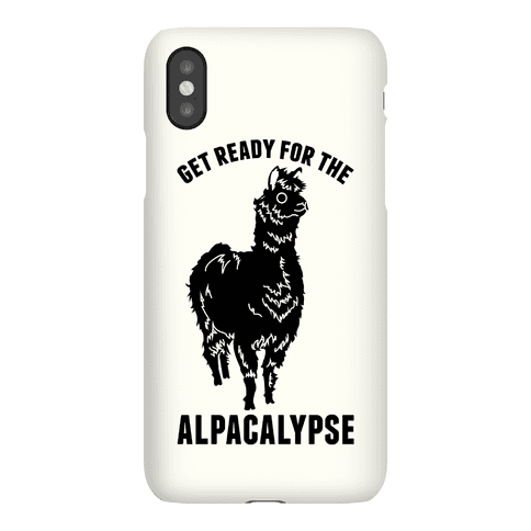 Get Ready for the Alpacalypse Phone Case