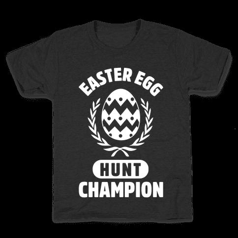 Easter Egg Hunt Champion Kids T-Shirt