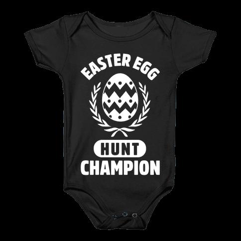 Easter Egg Hunt Champion Baby Onesy