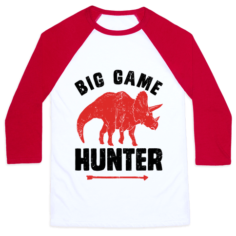 Big Game Hunter Baseball Tee