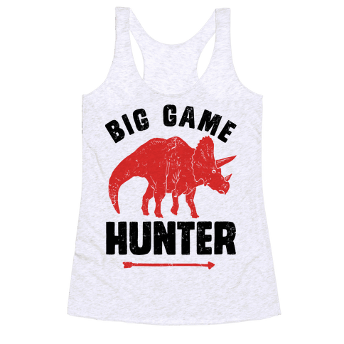 Big Game Hunter Racerback Tank Top