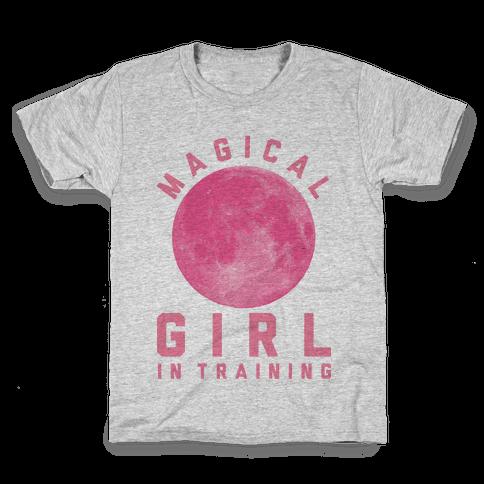 Magical Girl in Training Kids T-Shirt
