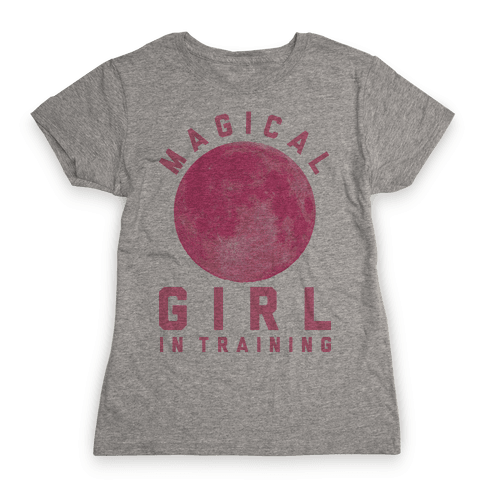 Magical Girl in Training Womens T-Shirt