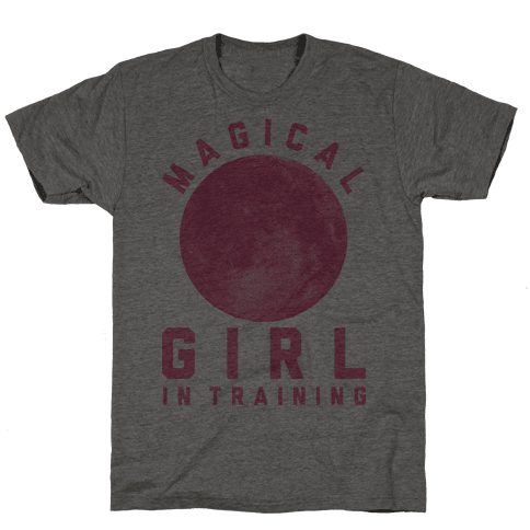 Magical Girl in Training Mens T-Shirt