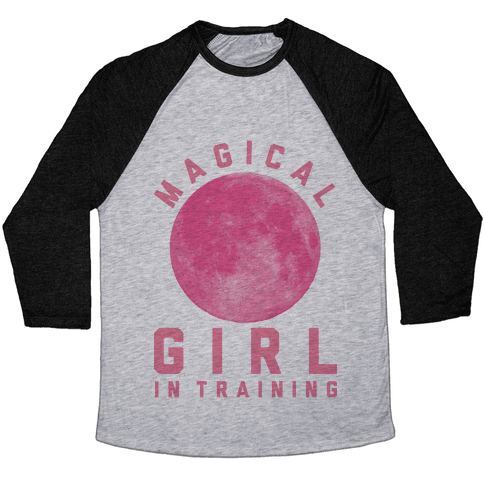 Magical Girl in Training Baseball Tee