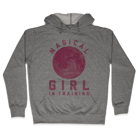 Magical Girl in Training Hooded Sweatshirt